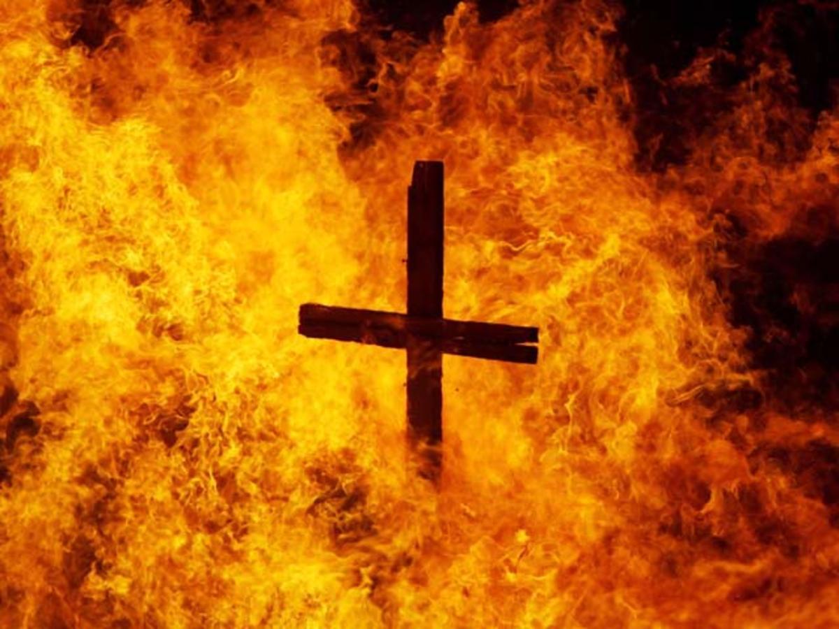 burning+cross